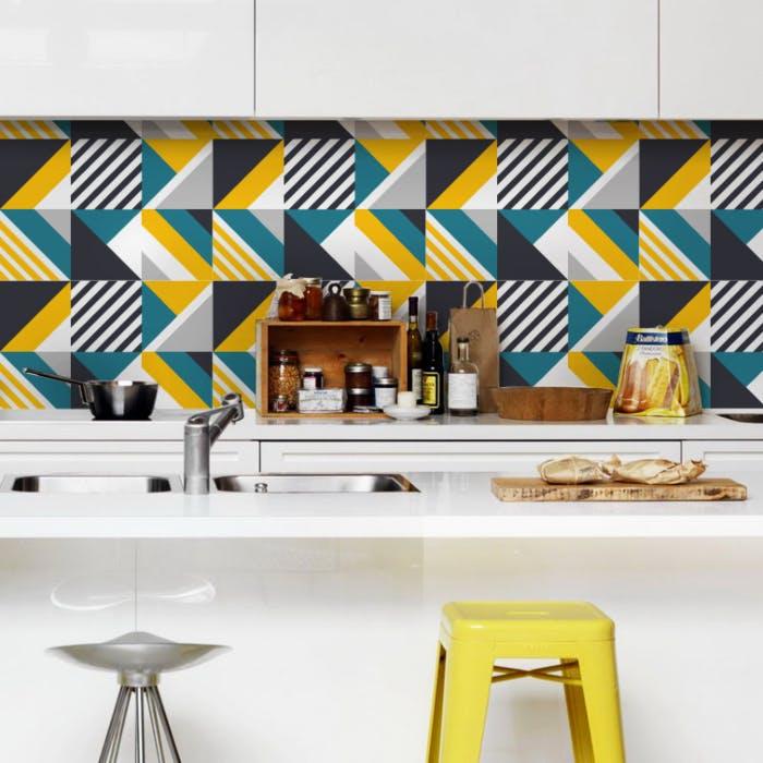 Adesivo de Azulejo Geometric Sixties