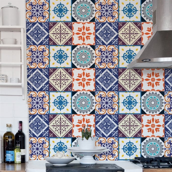 Adesivo de Azulejo Mix Coloniais