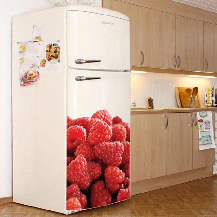 Adesivo de Parede Amoras geladeira