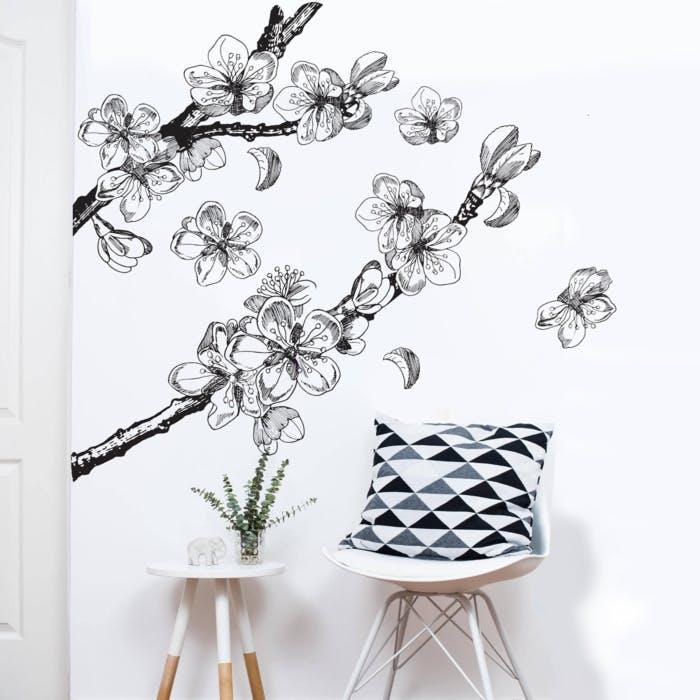 Adesivo de parede Cerejeira Lines