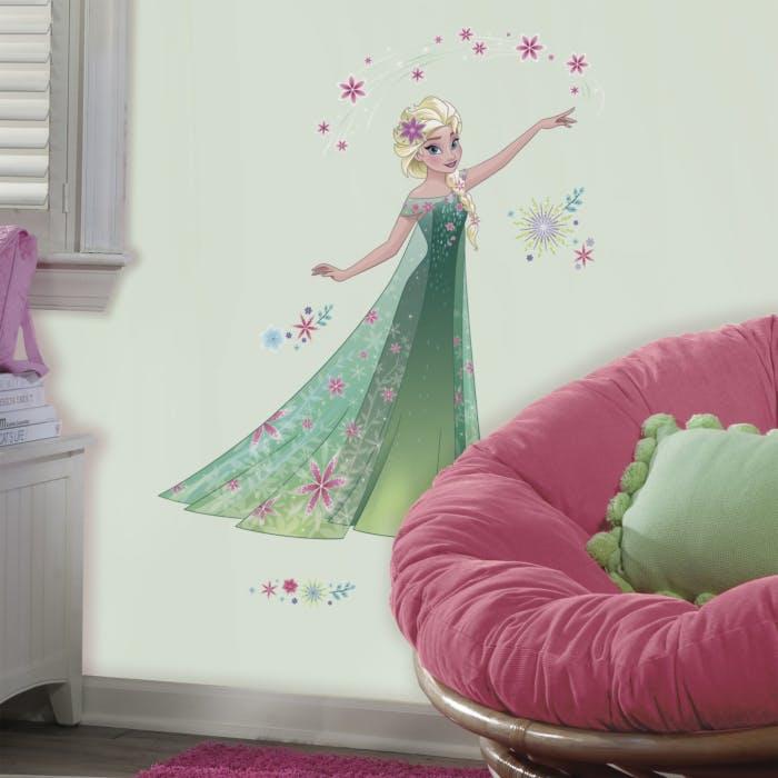Adesivo Frozen Primavera - Princesa Elsa Frozen Fever
