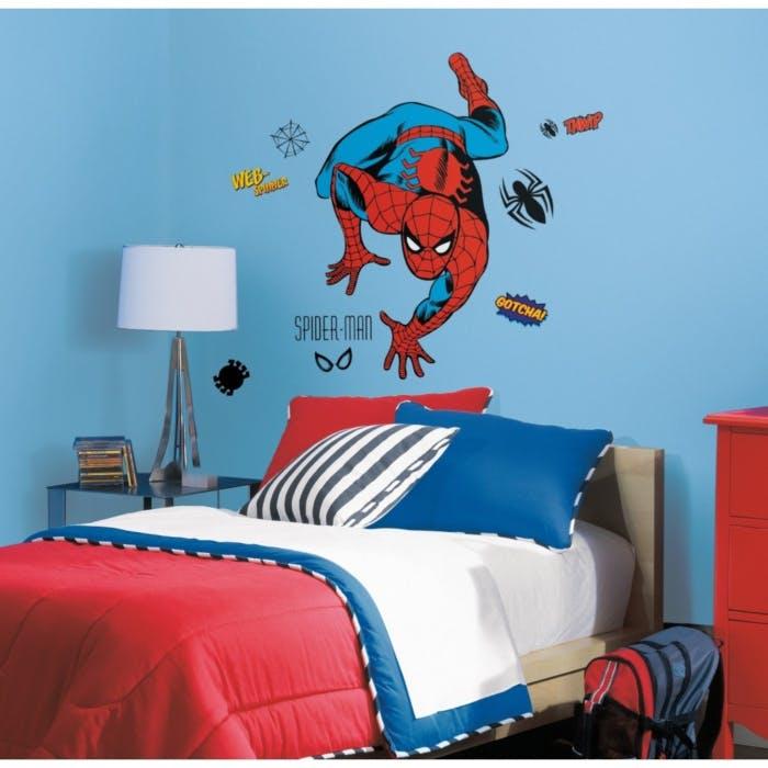 Adesivo de Parede Homem Aranha Cartoon Gigante