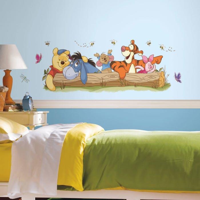 pooh e amigo adesivo de parede