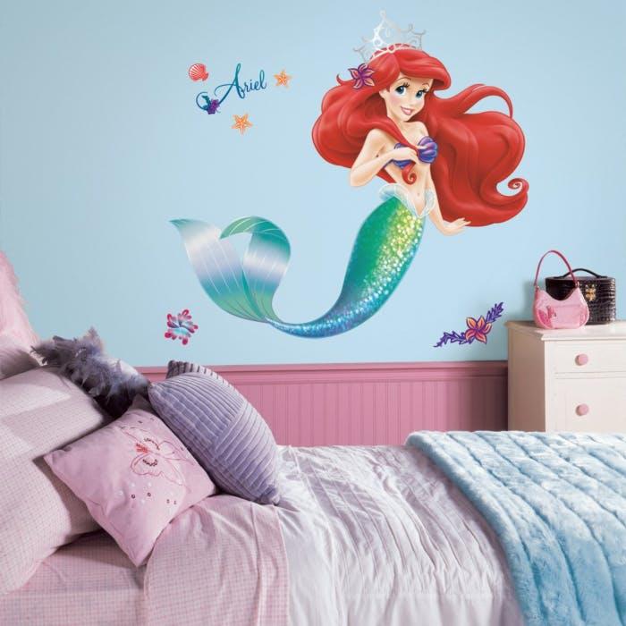 Adesivo de Parede Princesa Ariel
