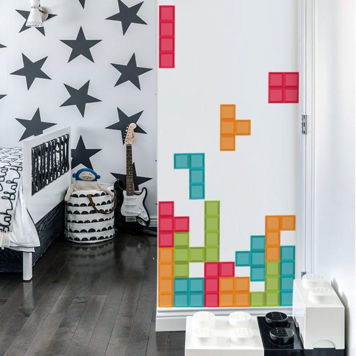 Adesivo de Parede Tetris
