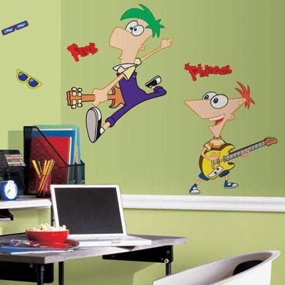 Adesivo Parede Phineas e Ferb