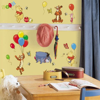 Adesivo Ursinho Pooh