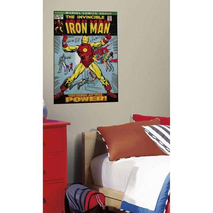 Adesivos de Parede Quadrinhos Homem de Ferro