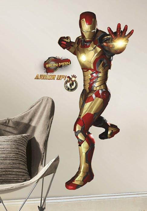 Adesivo de Parede Homem de Ferro 3