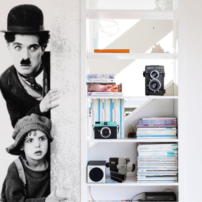 Papel de Parede Chaplin