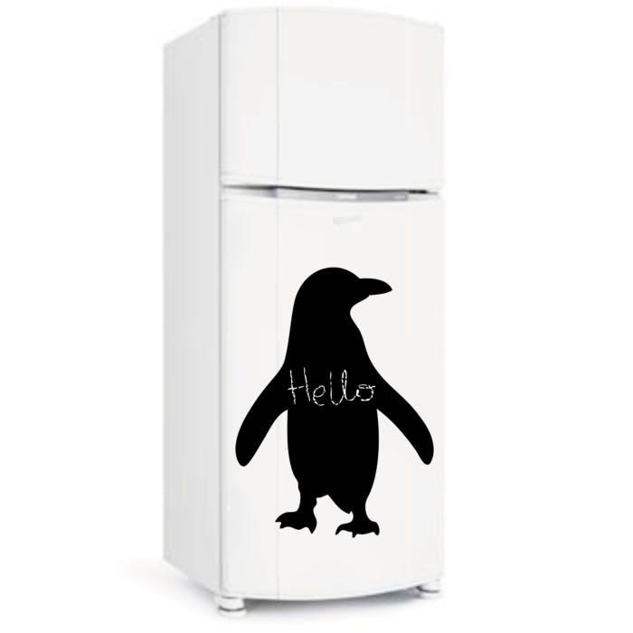 Pinguim Giz de Cera