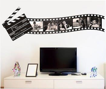 Gravando - Adesivo de parede Filme