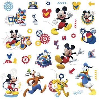 Cartela de Adesivos Clubinho do Mickey