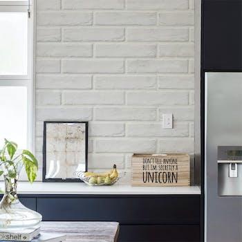 adesivo lavavel tijolo branco