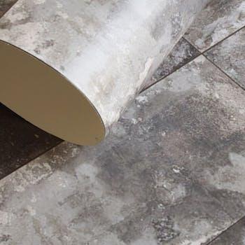 Detalhes Papel de Parede Industrial Rust