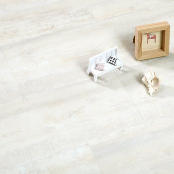 piso vinil autocolante branco