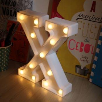 Quadro luminoso X