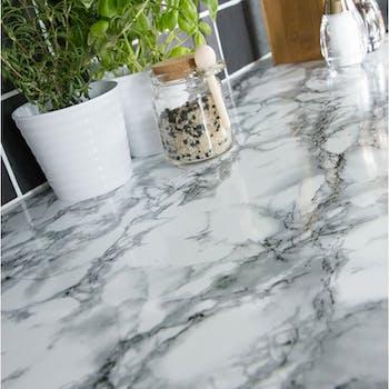 adesivo marmore branco promocao