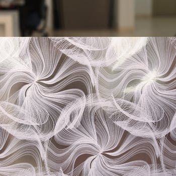 adesivo para vidro arabesco