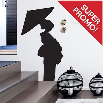 Adesivo de Parede Jardim Zen Café com Leite Unico Normal